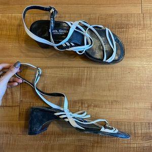 Paul Green Vintage 90s Minimalist Low Heel 6.5